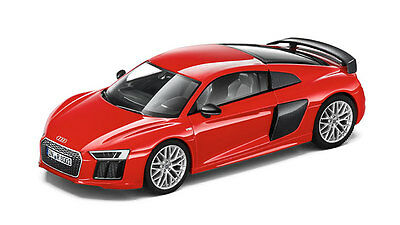 Genuine Audi New R8 V10 Plus Coupe 1:43 Scale Model - Dynamite Red