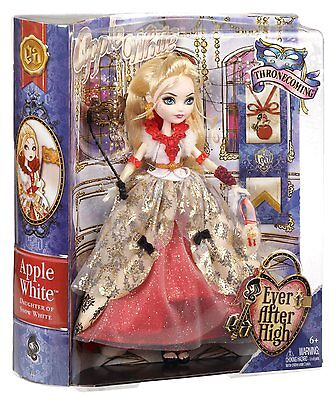 Ever After High Thronecoming Apple White Doll - Brand New