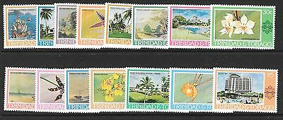 Trinidad & Tobago Sg479/95 1976 Paintings   Mnh
