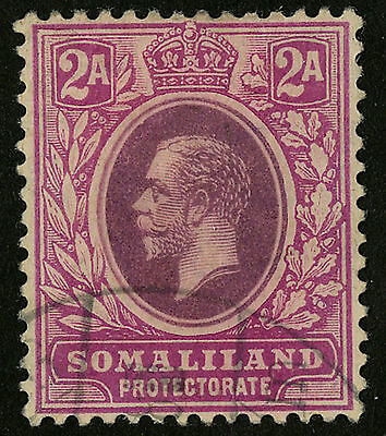 Somaliland Protectorate   1912-19   Scott # 53  USED