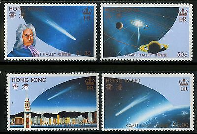 Hong Kong   1986   Scott # 461-464   Mint Never Hinged Set