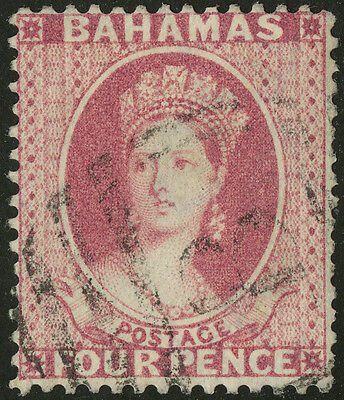 Bahamas   1882-98   Scott # 25   USED