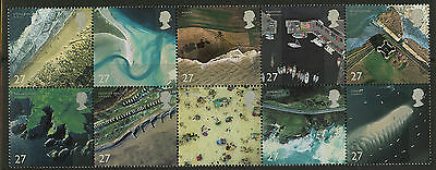 Great Britain   2002   Scott #2038a    Mint Never Hinged Block of Ten