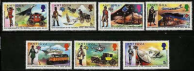 Antigua   1974   Scott #334-340   Mint Never Hinged Set