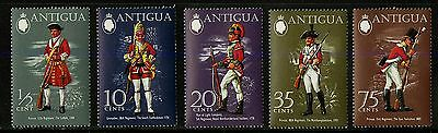 Antigua   1971   Scott #274-278   Mint Never Hinged Set