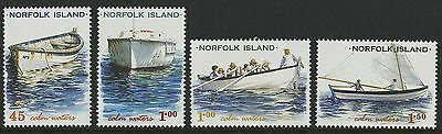 Norfolk Island   2001   Scott # 740-743    Mint Never Hinged Set