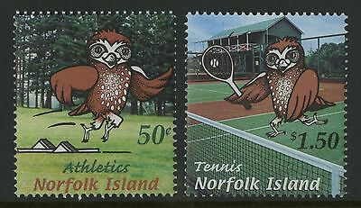 Norfolk Islands   2002   Scott # 764-765    Mint Never Hinged Set