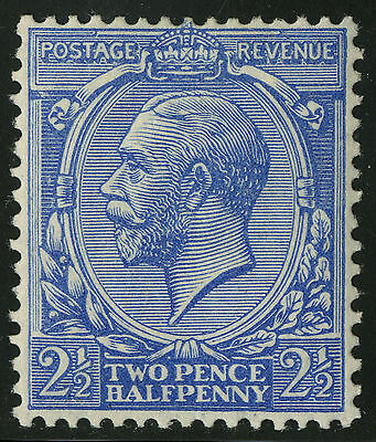 Great Britain   1912-13   Scott # 163  MLH