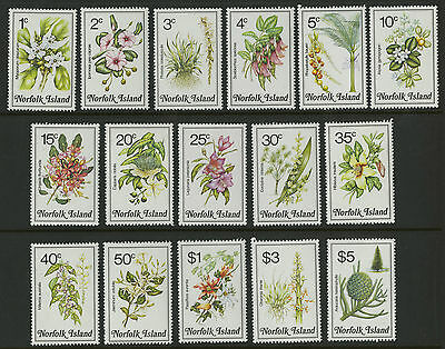 Norfolk Islands   1984   Scott # 323-338    Mint Never Hinged Set