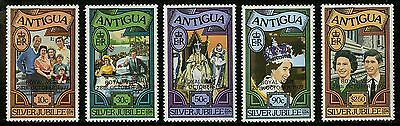 Antigua   1977   Scott #477-481   Mint Never Hinged Set