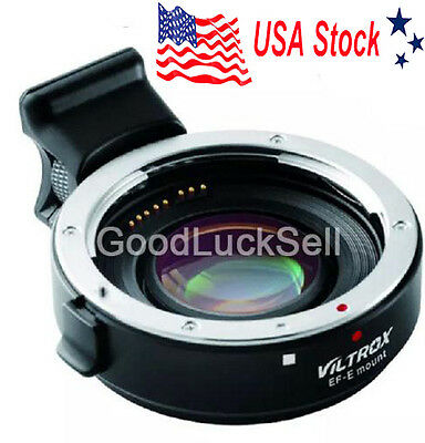 Viltrox Auto Focus Speed Booster for Canon EF EOS Lens to Sony NEX Adapter EF-E