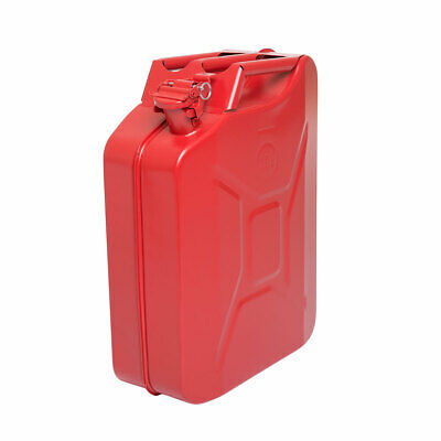 Wolf Large 20 Litre All Steel Petrol Jerry Can Fuel Container Tank