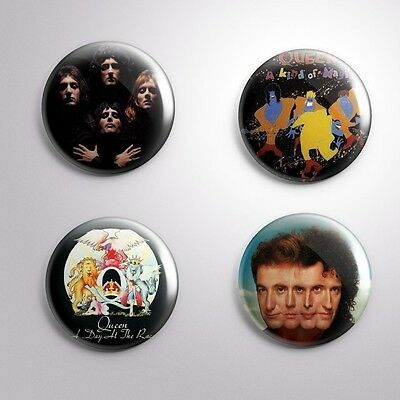 4 THE QUEEN - Pinbacks Badge Button Pin 25mm 1''