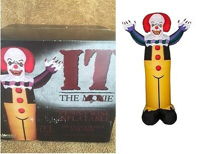 Halloween Lifesize PENNYWISE INFLATABLE CLOWN Haunted House NEW