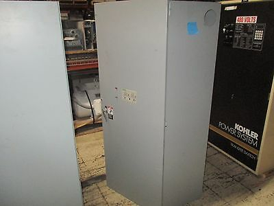 Asco Series 300 Automatic Transfer Switch A300360091C 600A 480V 60Hz Used