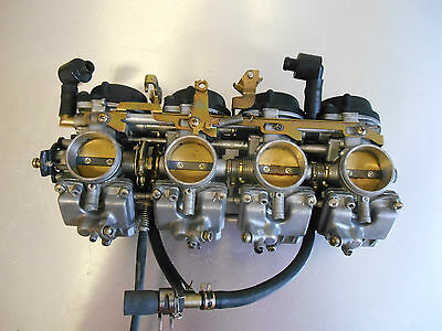 RAMPE DE CARBURATEUR D'ORIGINE DE YAMAHA R1 type 5JJ carburetor 2000 2001