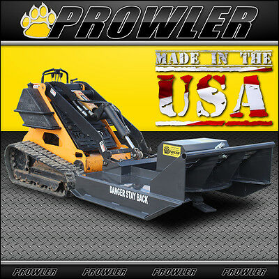 42 Inch Brush Mower for Mini Skid Steer Loaders - Extreme Duty, 10 to 15 GPM