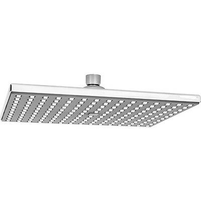 NEW Rectangular Rain Shower Head 250 x 175mm Each