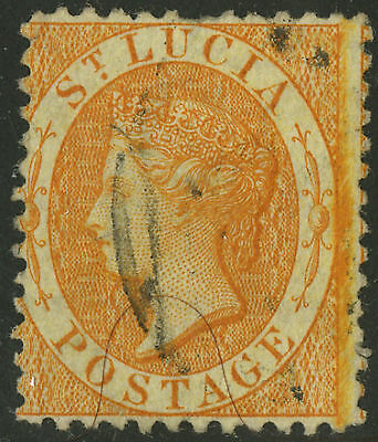 St Lucia  1864  Scott #10    USED