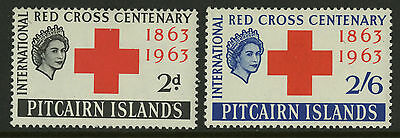 Pitcairn Islands  1963  Scott # 36-37  MNH Set