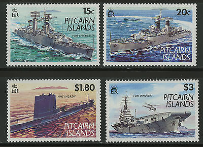 Pitcairn Islands  1993  Scott # 379-382  MNH Set