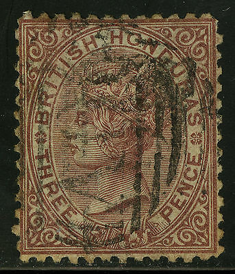 British Honduras  1872   Scott # 5  USED