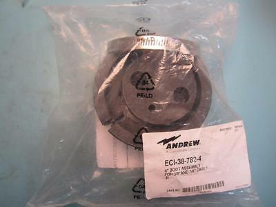 """Andrew - ECI-38-782-4 - 4"""" Boot Assembly for 3/8"""" cable (1 hole)"""