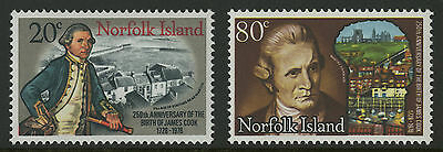 Norfolk Islands   1978   Scott # 240-241    Mint Never Hinged Set