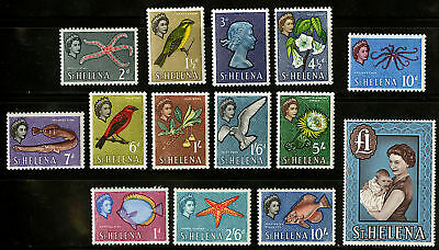 St Helena  1961   Scott # 159-172  MNH Set