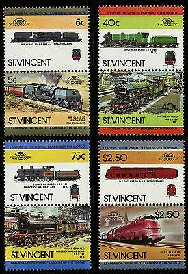 St Vincent   1984   Scott #787-790   Mint Never Hinged Set