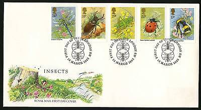 Great Britain 1985  Scott # 1098-1102   FDC
