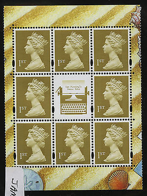 Great Britain   2008   Scott #MH287f    Mint Never Hinged Booklet Pane