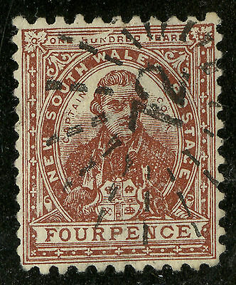 New South Wales  1888-89  Scott # 79  USED
