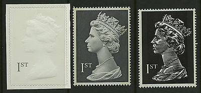 Great Britain   1999   Scott #MH310-312    Mint Never Hinged Set
