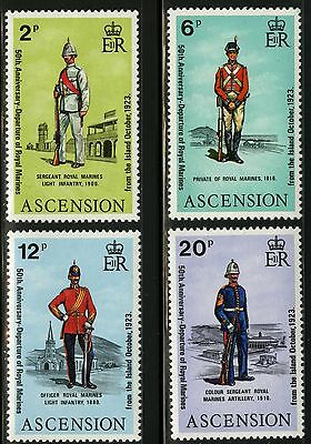 Ascension  1973   Scott # 173-176  MNH Set