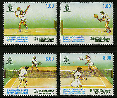 Sri Lanka  1990  Scott # 973-976  MNH Set
