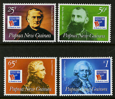 Papua New Guinea   1999   Scott # 970-973    Mint Never Hinged Set