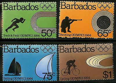 Barbados   1984   Scott #623-626   MNH Set