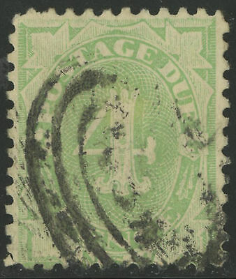New South Wales   1891-92   Scott # J5  USED