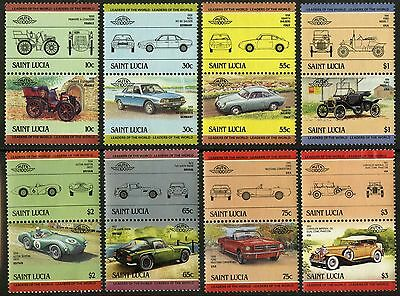 St Lucia   1984   Scott # 686-693   MNH Set