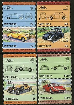 St Lucia   1985   Scott # 739-742   MNH Set