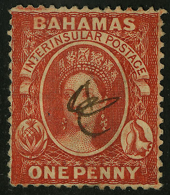 Bahamas   1863-81   Scott # 16   USED