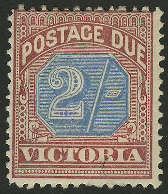 Victoria   1890   Scott # J9   Mint Hinged