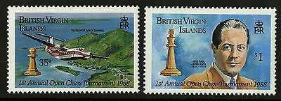 Virgin Islands   1988   Scott #605-606   MNH Set
