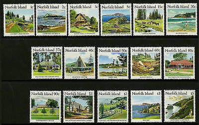 Norfolk Island  1987-88  Scott # 401-416  MNH Set