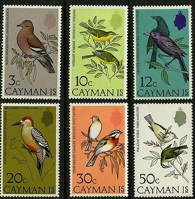 Cayman Islands   1974    Scott # 322-327   Mint Never Hinged Set