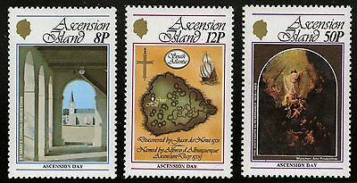 Ascension  1979   Scott # 239-241  MNH Set