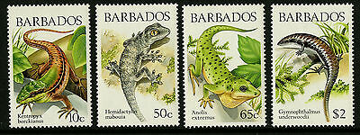 Barbados   1988   Scott #723-726    Mint Never Hinged Set