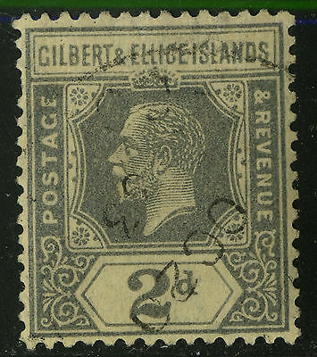 Gilbert & Ellice Islands   1921-27   Scott # 30   USED