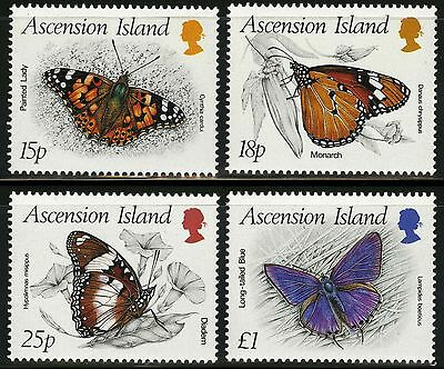 Ascension  1987   Scott # 426-429  MNH Set